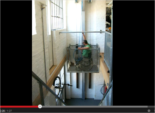 Awesomely Homemade: Wheelchair Lift